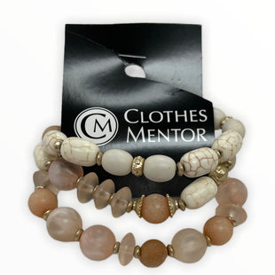 Primary Photo - BRAND: CHICOS STYLE: BRACELET COLOR: PEACH SIZE: 03 PIECE SET SKU: 190-190140-24986