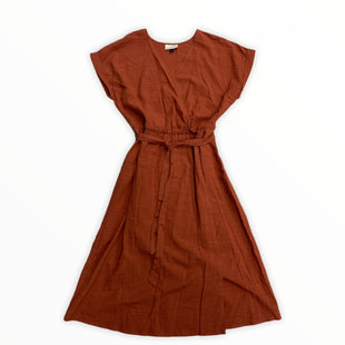 Primary Photo - BRAND: UNIVERSAL THREAD STYLE: DRESS SHORT SHORT SLEEVE COLOR: RUST SIZE: L SKU: 190-190106-57154