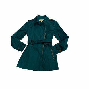 Primary Photo - BRAND: MICHAEL BY MICHAEL KORS STYLE: JACKET OUTDOOR COLOR: TEAL SIZE: PETITE  MEDIUM SKU: 190-190140-23336