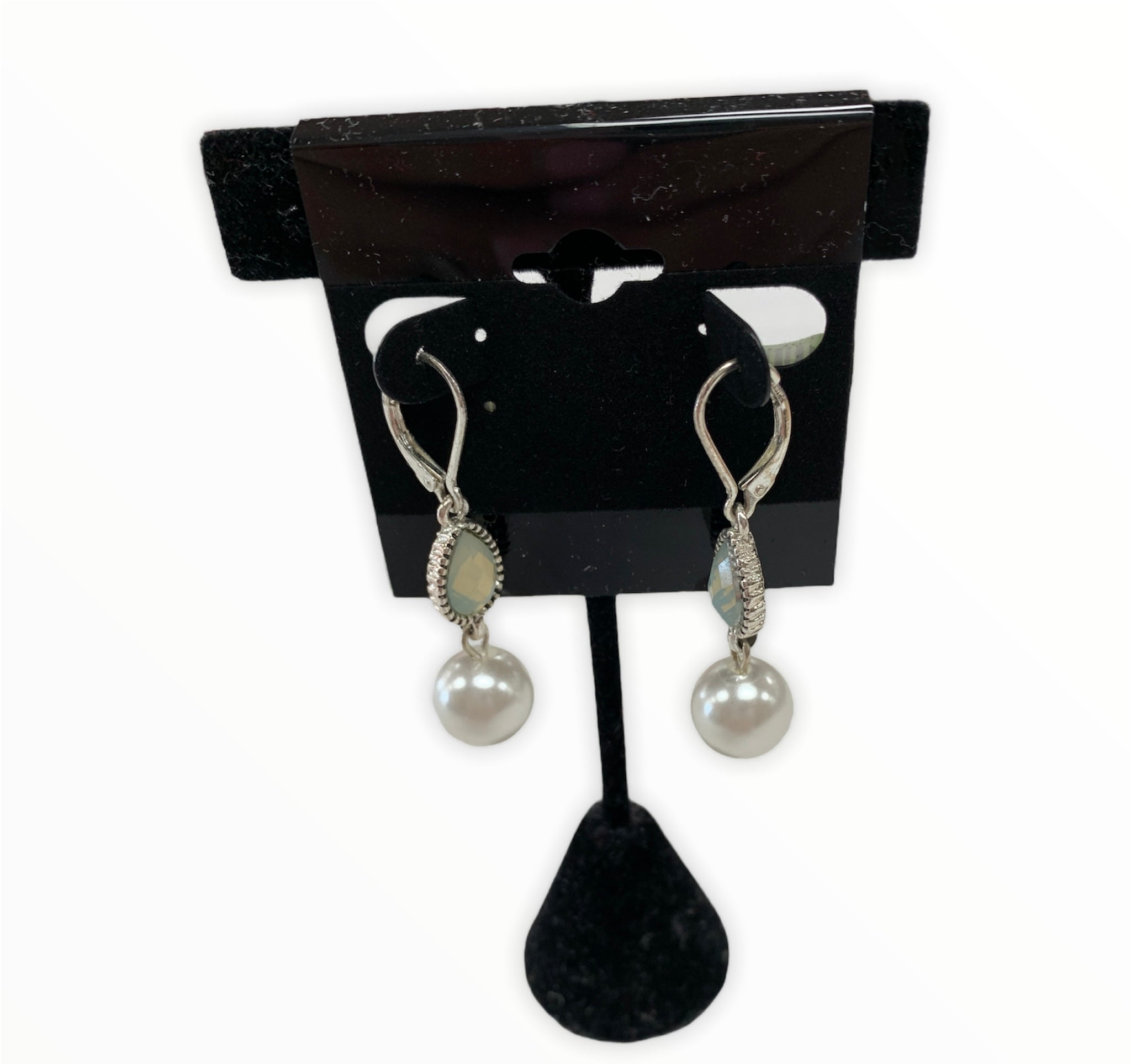 Primary Photo - BRAND: NAPIER <BR>STYLE: EARRINGS <BR>COLOR: PEARL <BR>SKU: 190-190140-24256