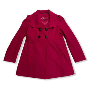 Primary Photo - BRAND: GUESS STYLE: COAT SHORT COLOR: RASPBERRY SIZE: L SKU: 190-19060-45955