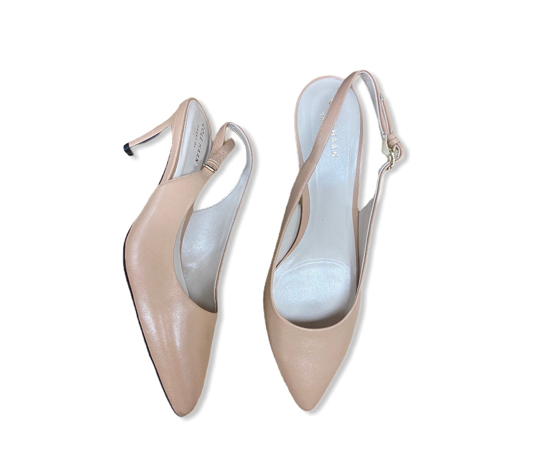 Primary Photo - BRAND: COLE-HAAN <BR>STYLE: SHOES LOW HEEL <BR>COLOR: NUDE <BR>SIZE: 8.5 <BR>OTHER INFO: NEW! <BR>SKU: 190-190161-481