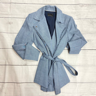 Primary Photo - BRAND: BANANA REPUBLIC STYLE: JACKET OUTDOOR COLOR: DENIM BLUE SIZE: M OTHER INFO: TALL SKU: 190-190140-12665