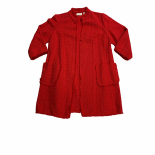 Primary Photo - BRAND: CHICOS STYLE: BLAZER JACKET COLOR: RED SIZE: M SKU: 190-190140-23564