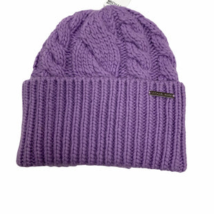 Primary Photo - BRAND: MICHAEL BY MICHAEL KORS STYLE: HAT COLOR: PURPLE OTHER INFO: NEW! SKU: 190-19060-47498