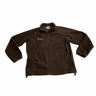 Primary Photo - BRAND: COLUMBIA STYLE: FLEECE COLOR: BROWN SIZE: L SKU: 190-19060-47480