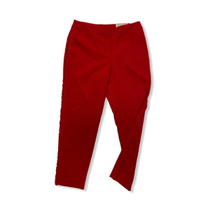 Primary Photo - BRAND: CHICOS STYLE: PANTS COLOR: RED SIZE: 10 OTHER INFO: NEW! SKU: 190-190125-29083