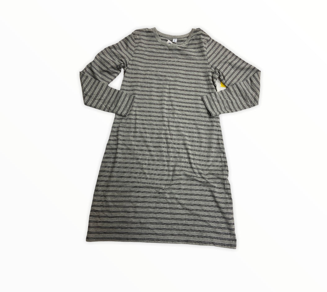 Primary Photo - BRAND: OLD NAVY <BR>STYLE: DRESS SHORT LONG SLEEVE <BR>COLOR: GREY <BR>SIZE: XL <BR>OTHER INFO: TALL <BR>SKU: 190-190140-20502