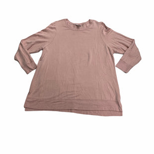 Primary Photo - BRAND: CJ BANKS STYLE: TOP LONG SLEEVE COLOR: DUSTY PINK SIZE: 2X SKU: 190-190125-38990