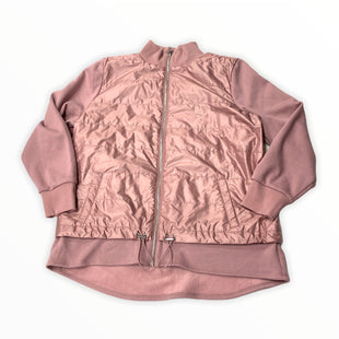 Primary Photo - BRAND: CHICOS STYLE: JACKET OUTDOOR COLOR: DUSTY PINK SIZE: L OTHER INFO: NEW! SKU: 190-190125-37364
