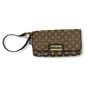 Primary Photo - BRAND: COACH STYLE: WRISTLET COLOR: BROWN SKU: 190-190106-49985