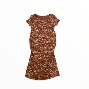Primary Photo - BRAND: ISABEL MATERNITY STYLE: MATERNITY DRESS COLOR: ANIMAL PRINT SIZE: L OTHER INFO: NEW! SKU: 190-190140-22139
