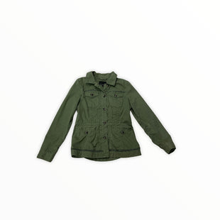 Primary Photo - BRAND: BANANA REPUBLIC STYLE: JACKET OUTDOOR COLOR: OLIVE SIZE: S SKU: 190-190125-34490