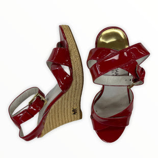 Primary Photo - BRAND: MICHAEL BY MICHAEL KORS STYLE: SANDALS HIGH COLOR: RED SIZE: 6 SKU: 190-190125-29191