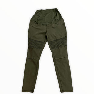 Primary Photo - BRAND: ISABEL MATERNITY STYLE: MATERNITY JEANS COLOR: OLIVE SIZE: 4 OTHER INFO: NEW! SKU: 190-190140-22301