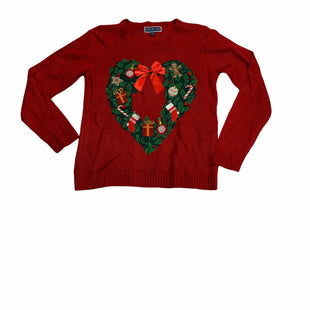 Primary Photo - BRAND: KAREN SCOTT STYLE: SWEATER LIGHTWEIGHT COLOR: RED SIZE: M OTHER INFO: CHRISTMAS SKU: 190-190125-27994