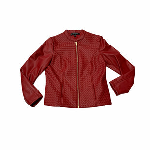 Primary Photo - BRAND:   COLLEEN LOPEZSTYLE: JACKET OUTDOOR COLOR: RED SIZE: S OTHER INFO: COLLEEN LOPEZ - SKU: 190-190125-37682