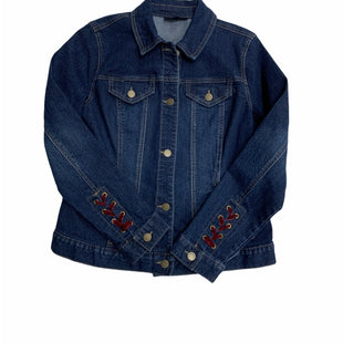 Primary Photo - BRAND: CHARTER CLUB STYLE: JACKET OUTDOOR COLOR: DENIM BLUE SIZE: S OTHER INFO: NEW! SKU: 190-190140-21492