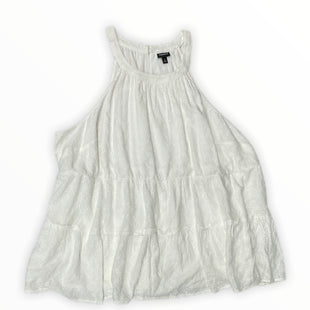 Top Sleeveless By Torrid  Size: 4X - BRAND: TORRID STYLE: DRESS SHORT SLEEVELESS COLOR: WHITE SIZE: 4XSKU: 190-190106-56161