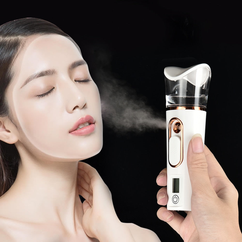 Face Spray Steamer Bottle Measuring Skin Moisture Hydrating Instrument - Lavish Online Shoppe