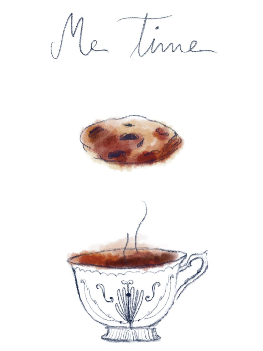Me Time - Minimalist Coffee Poster