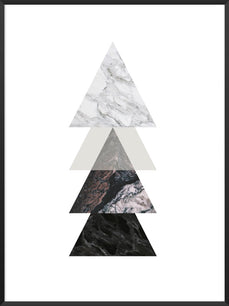 project-nord-marble-triangles-poster-product-picture