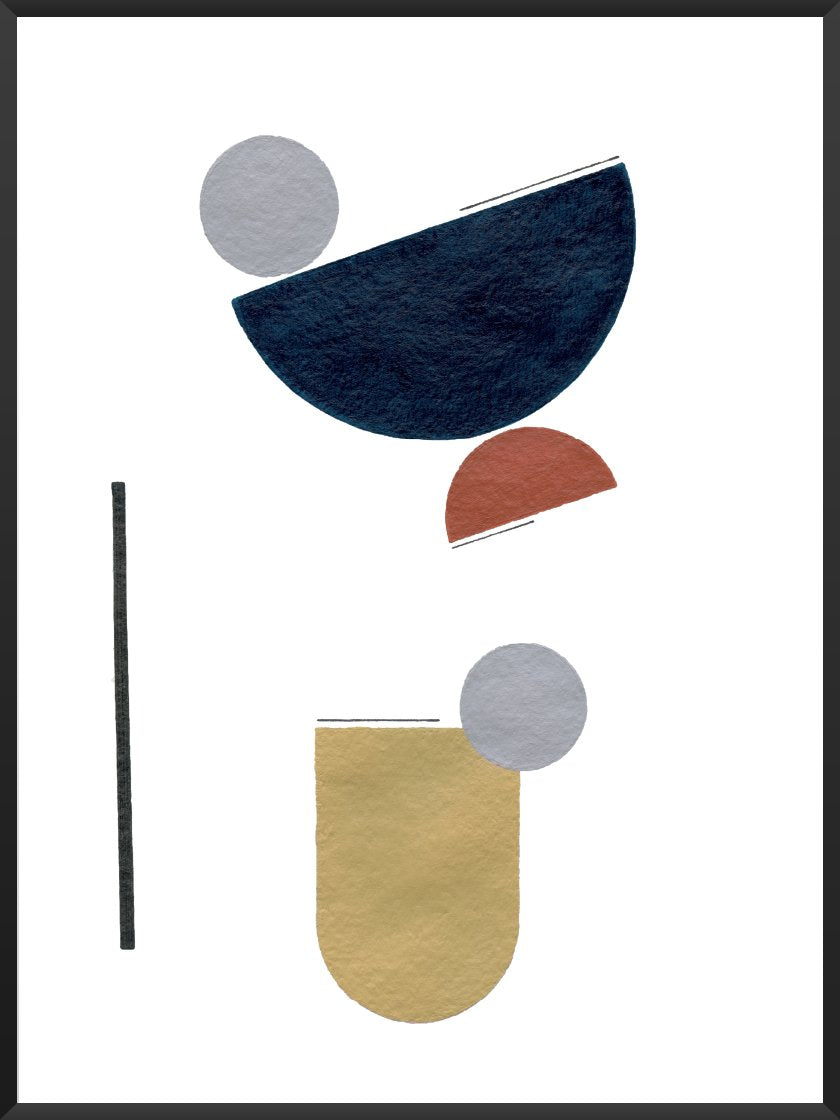 Abstract Geometric Textures - Poster