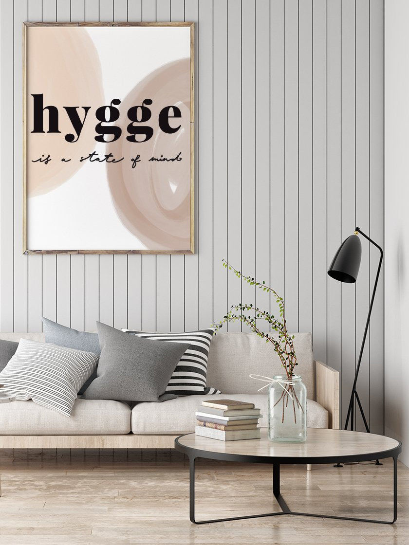 Hygge is a State of Mind - Poster