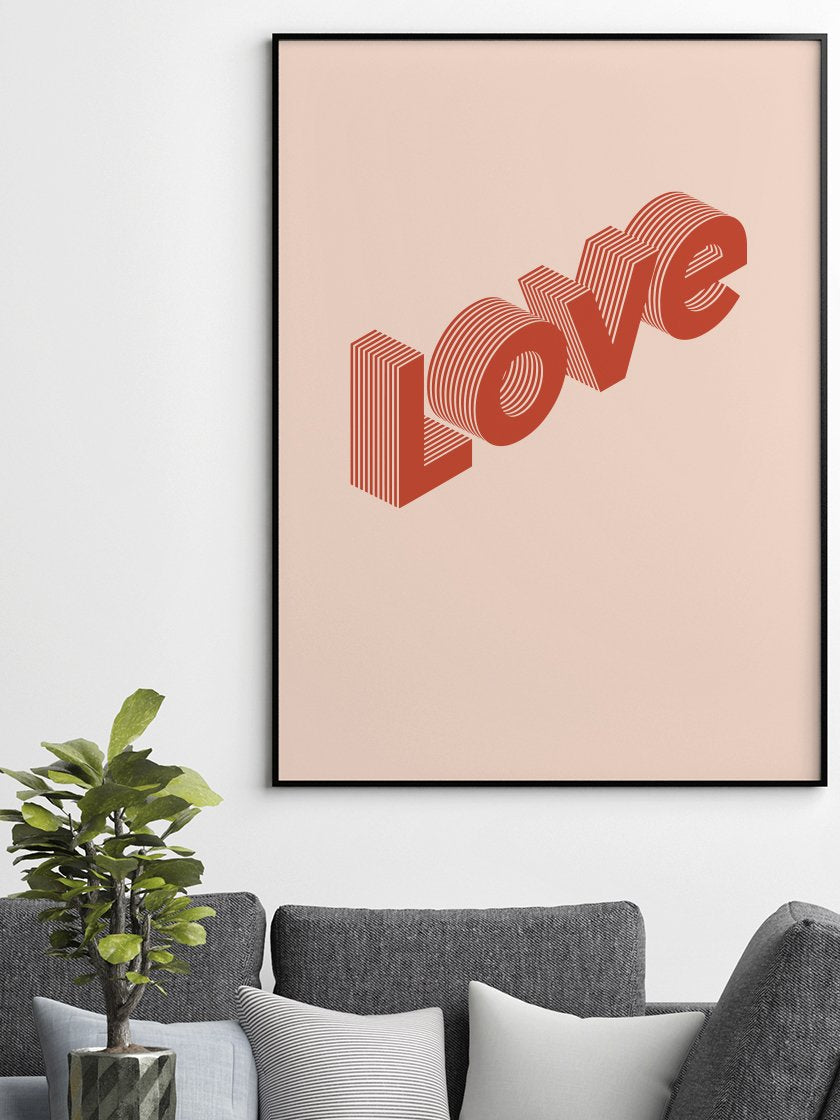 love-is-in-the-air-poster-in-interior-living-room