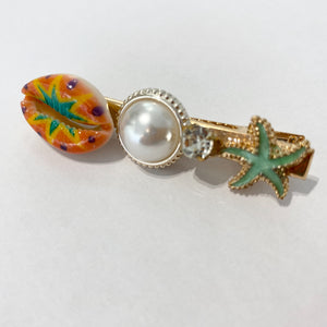 Exotic Pearl Shell Hairclip