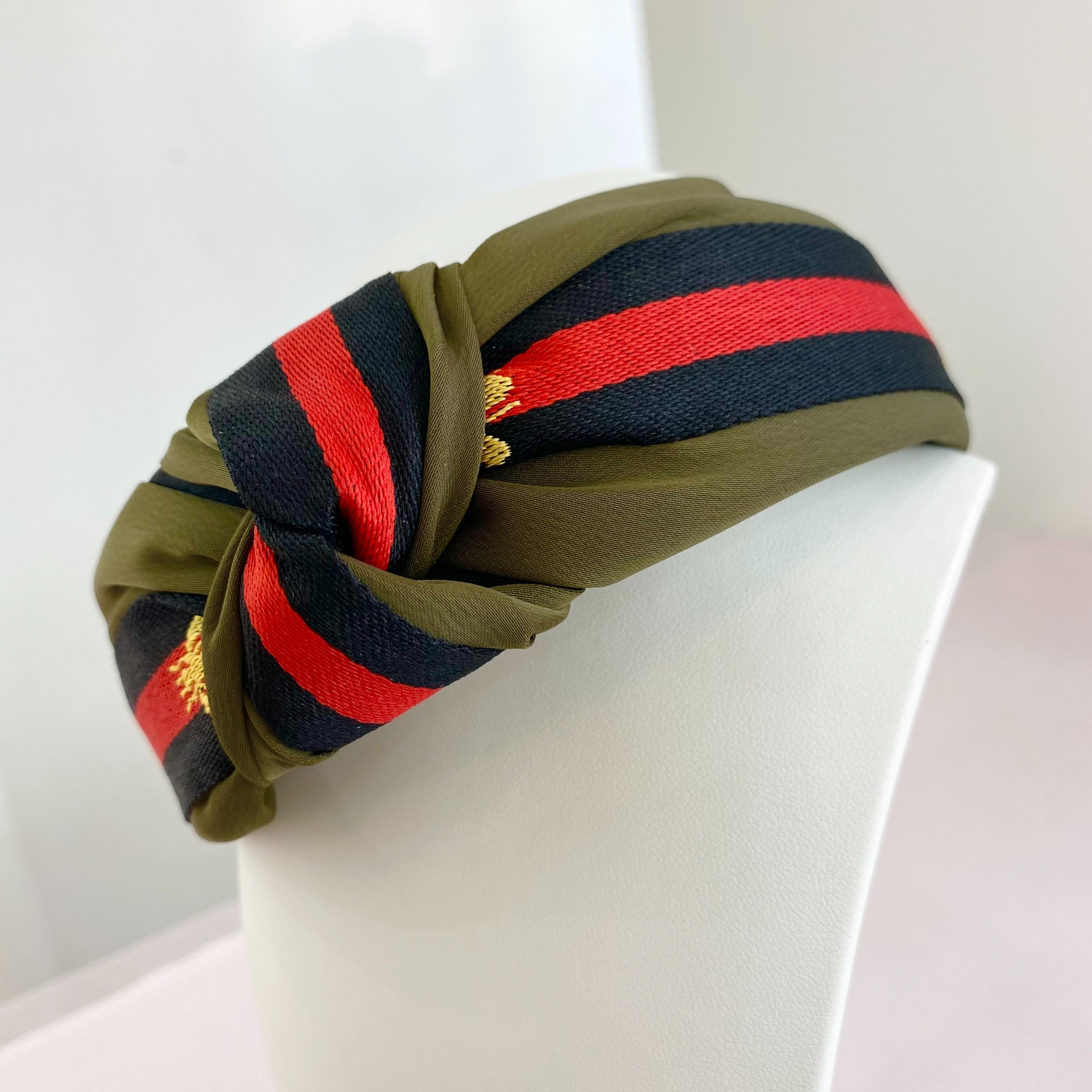 Bumble Khaki Headband
