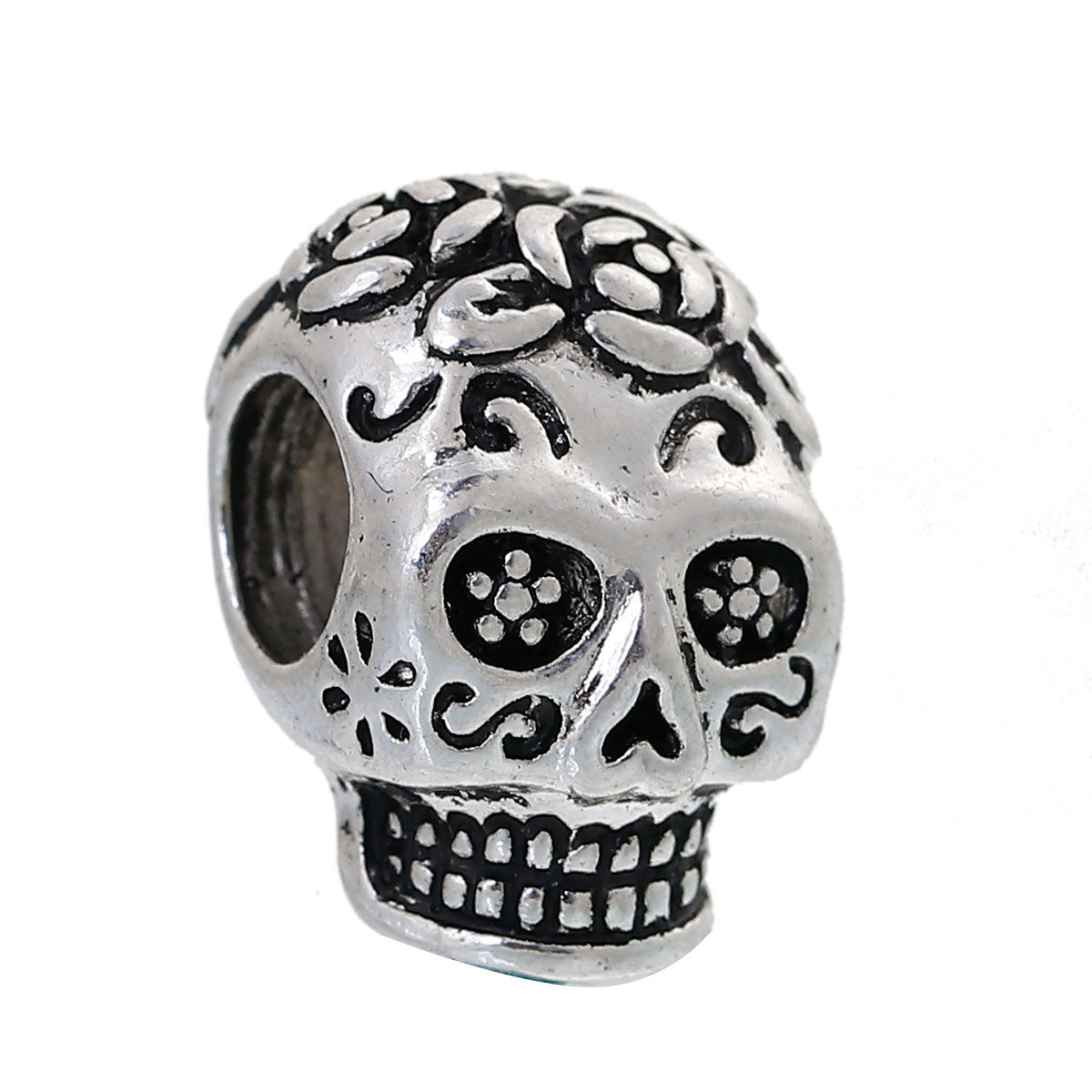 Metal Mexican Candy Skull