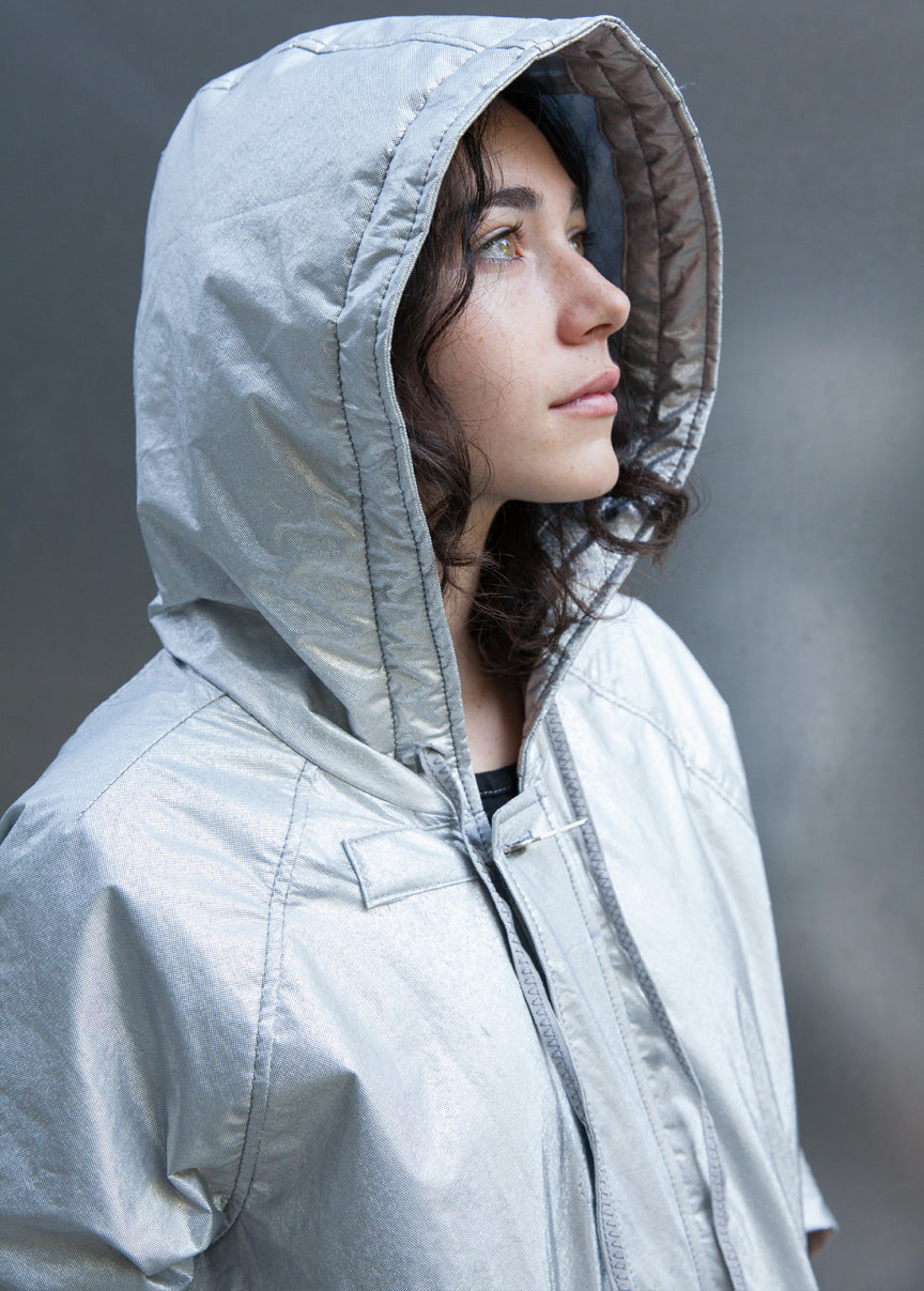 rain jacket zero waste innovative sustainable materials