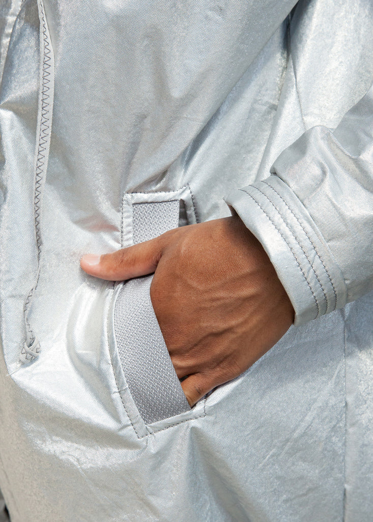 OVERSIZED RAIN JACKET – LIMITED EDITION ZERO WASTE PROJECT 1
