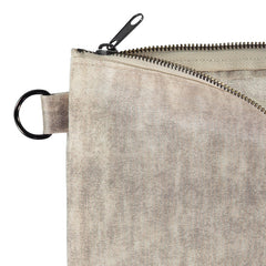 Versatile repurposed cross-body clutch, American made - Rewilder