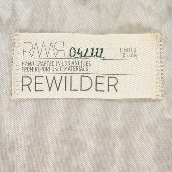 Rewilder, eco fashion handmade in Los Angeles