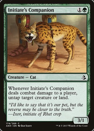 Initiate's Companion [Amonkhet] | Space Cadets Gaming Gaming