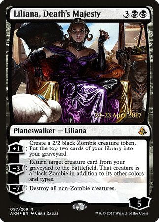 Liliana, Death's Majesty [Amonkhet Promos] | Space Cadets Gaming Gaming