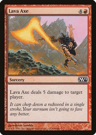 Lava Axe [Magic 2012] | Space Cadets Gaming Gaming