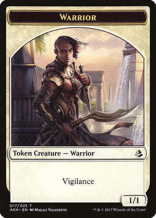 Warrior Token [Amonkhet Tokens] | Space Cadets Gaming Gaming