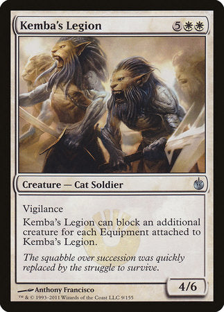 Kemba's Legion [Mirrodin Besieged] | Space Cadets Gaming Gaming