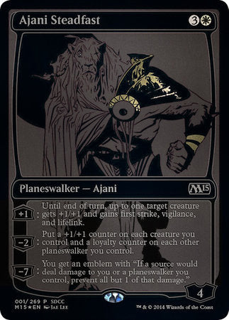 Ajani Steadfast SDCC 2014 EXCLUSIVE [San Diego Comic-Con 2014] | Space Cadets Gaming Gaming
