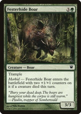 Festerhide Boar [Innistrad] | Space Cadets Gaming Gaming