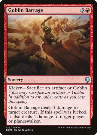 Goblin Barrage [Dominaria] | Space Cadets Gaming Gaming