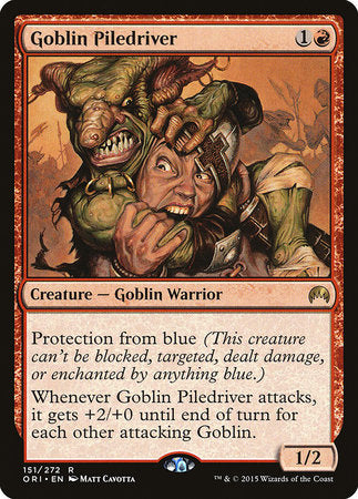 Goblin Piledriver [Magic Origins] | Space Cadets Gaming Gaming