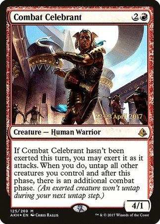 Combat Celebrant [Amonkhet Promos] | Space Cadets Gaming Gaming
