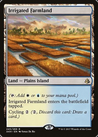 Irrigated Farmland [Amonkhet] | Space Cadets Gaming Gaming