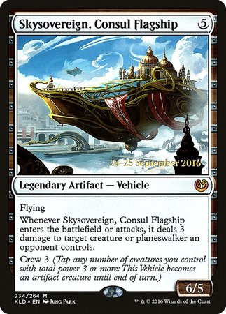 Skysovereign, Consul Flagship [Kaladesh Promos] | Space Cadets Gaming Gaming