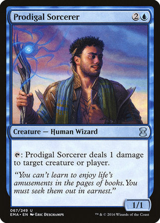 Prodigal Sorcerer [Eternal Masters] | Space Cadets Gaming Gaming