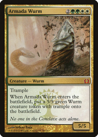 Armada Wurm [Return to Ravnica] | Space Cadets Gaming Gaming